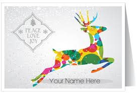 Holiday Business Cards Contemporary Modern Holiday Greeting Card 36602 Harrison