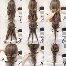 step to step hairstyles for medium hairs 10 quick and easy hairstyles step by step braid hair tutorials