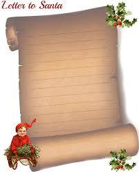 template christmas letter santa scroll clipart 48 christmas letter scroll template clipart