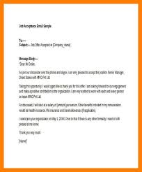 accepting job offer email 11 offer letter email agenda example