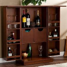 Wood Bar Cabinet Tips For A Small Liquor Cabinet U2013 Home Design And Decor
