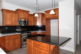Kitchen Island Countertop Overhang Affordable Custom Cabinets Showroom