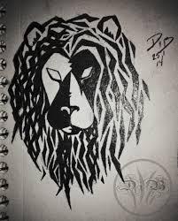 tribal leo idea weasyl