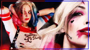 squad harley quinn margot robbie halloween makeup tutorial