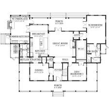 Holiday House Floor Plans Palmetto Bluff River House House Plan C0565 Design From Allison