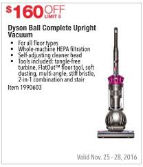 dyson vacuums black friday costco wholesale black friday dyson ball complete upright vacuum