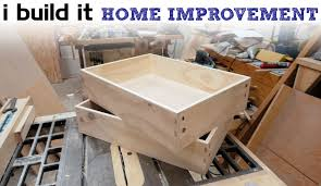 How To Cover Kitchen Cabinets by How To Make Drawers The Easy Way Kitchen Cabinet Build Youtube