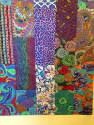 Kaffe Fassett Tapestry Cushion Kits Spice Drop Blues 54