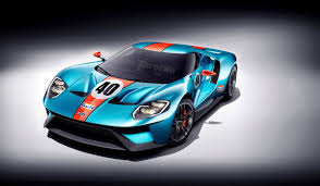 gulf car this is how awesome the new ford gt would look with a gulf livery