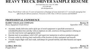 Transportation Resume Examples by Sample Truck Driver Resume Samples Of Payslips Bus Driver Resume