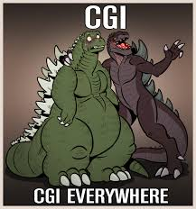 Godzilla Nope Meme - cgi godzilla 2014 x x everywhere know your meme