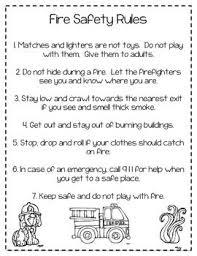 25 preschool fire safety ideas fire safety