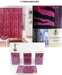 Bath Sets With Shower Curtains Zebra Shower Curtain Set Foter