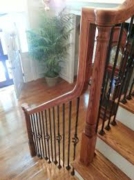 Hardwood Floor Stairs Staircase Carpet Replacement Accent Wood Floors Inc