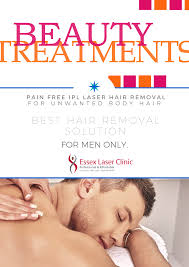 the best hair removal solution for men essex laser clinic