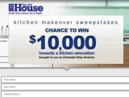 Free Kitchen Makeover Contest - cash sweepstakes and giveaways win free cash online