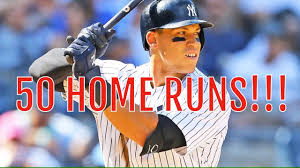 Aaron Judge Breaks Mlb Rookie Record With 50th Home Run Rolling Stone - aaron judge 50th home run youtube
