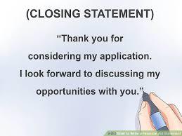 3 ways to write a financial aid statement wikihow