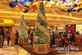 Christmas Decorations In Las Vegas Winter Theme At Bellagio Vegas 2014