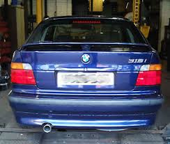 bmw e36 316i compact bmw 316i compact e36 custom cat back stainless steel exhaust