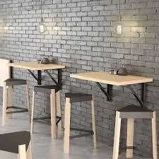 si e de mural rabattable table murale rabattable d appoint en stratifié vulcano 4 pieds