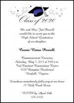 school graduation invitations high school graduation invitation wording cloveranddot