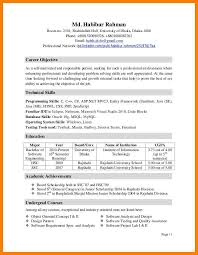 Asp Net Sample Resume by Sample Resume Extracurricular Activities Free Resume Example And