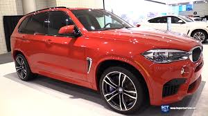 red bmw 2016 2016 bmw x5 m exterior and interior walkaround 2016 new york