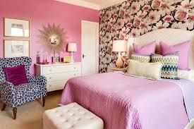 Bedroom  Hot Pink Girls Bedroom Teenage Pink Bedroom Ideas Pink - Girls bedroom ideas pink and black