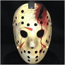 Jason Costume Deluxe Jason Hockey Mask Part 4 Mad About Horror