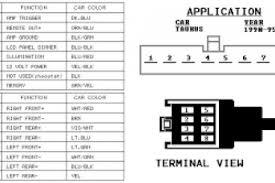 2000 ford ranger stereo wiring diagram wiring diagram