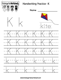 best ideas of letter k writing worksheets with additional sample
