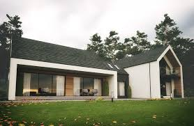 Home Design Group Northern Ireland Dromintee Replacement House County Armagh By Slemish Design