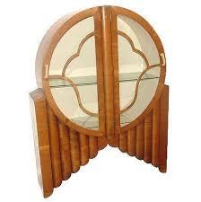 Art Deco Round Display Cabinet Art Deco Round Display Cabinet