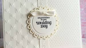 weeding card how to make an ivory wedding card diy crafts tutorial