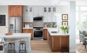 light wood tone kitchen cabinets the top 8 cabinetry trends for 2020 rustic wood vs pretty