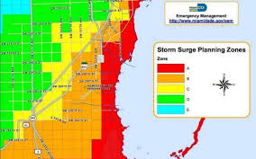 Florida Zip Code Map by Hurricane Irma Am I In An Evacuation Zone See Miami Dade Map