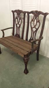 Best  Chair Bench Ideas On Pinterest Unusual Furniture - Dining room chairs and benches