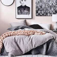 Linen Duvet Cover Australia Home Republic Vintage Washed Quilt Cover Grey Marle Bedroom