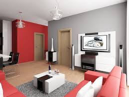 gray and red living room ideas home design