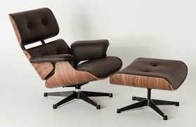 brown italian leather eames lounge chair replica eames lounge