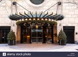 Luxury Hotels Nyc 5 Star Hotel Four Seasons New York Four Seasons Hotel New York Usa Stock Photo Royalty Free Image