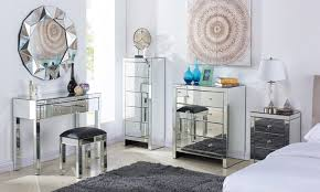 cheap mirrored bedroom furniture mirrored bedroom furniture groupon