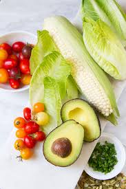 good eats grilled avocado salad with green goddess dressing