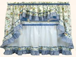 blue and yellow kitchen curtains winda 7 furniture