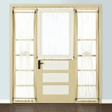 Side Window Curtains Front Doors Front Door Side Window Sheer Curtains Front Door