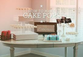 how to make cake pops a free step by step tutorial