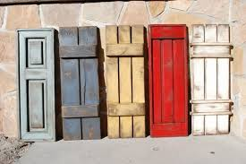 Wooden Window Shutters Interior Diy House Exterior Ideas Rustic Shutters Diy Ideas Colors Styles