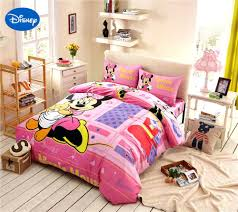 Minnie Mouse Queen Size Bedding Set Online Get Cheap Mickey Mouse