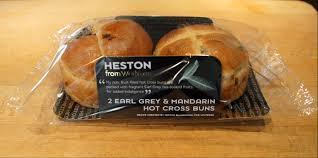 hot buns review heston from waitrose earl grey mandarin hot cross buns review